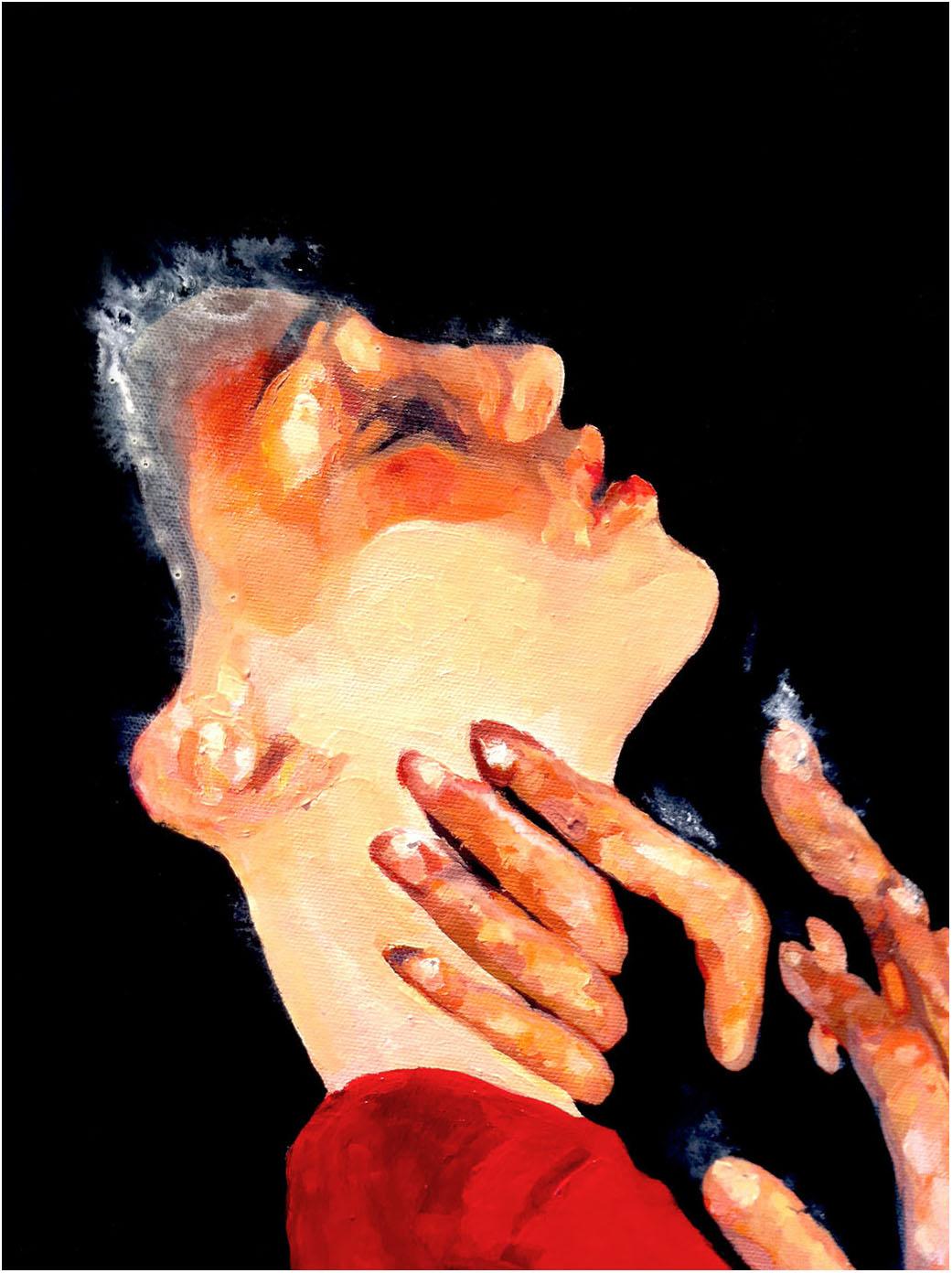 La caresse de Mozart 80-80 cm