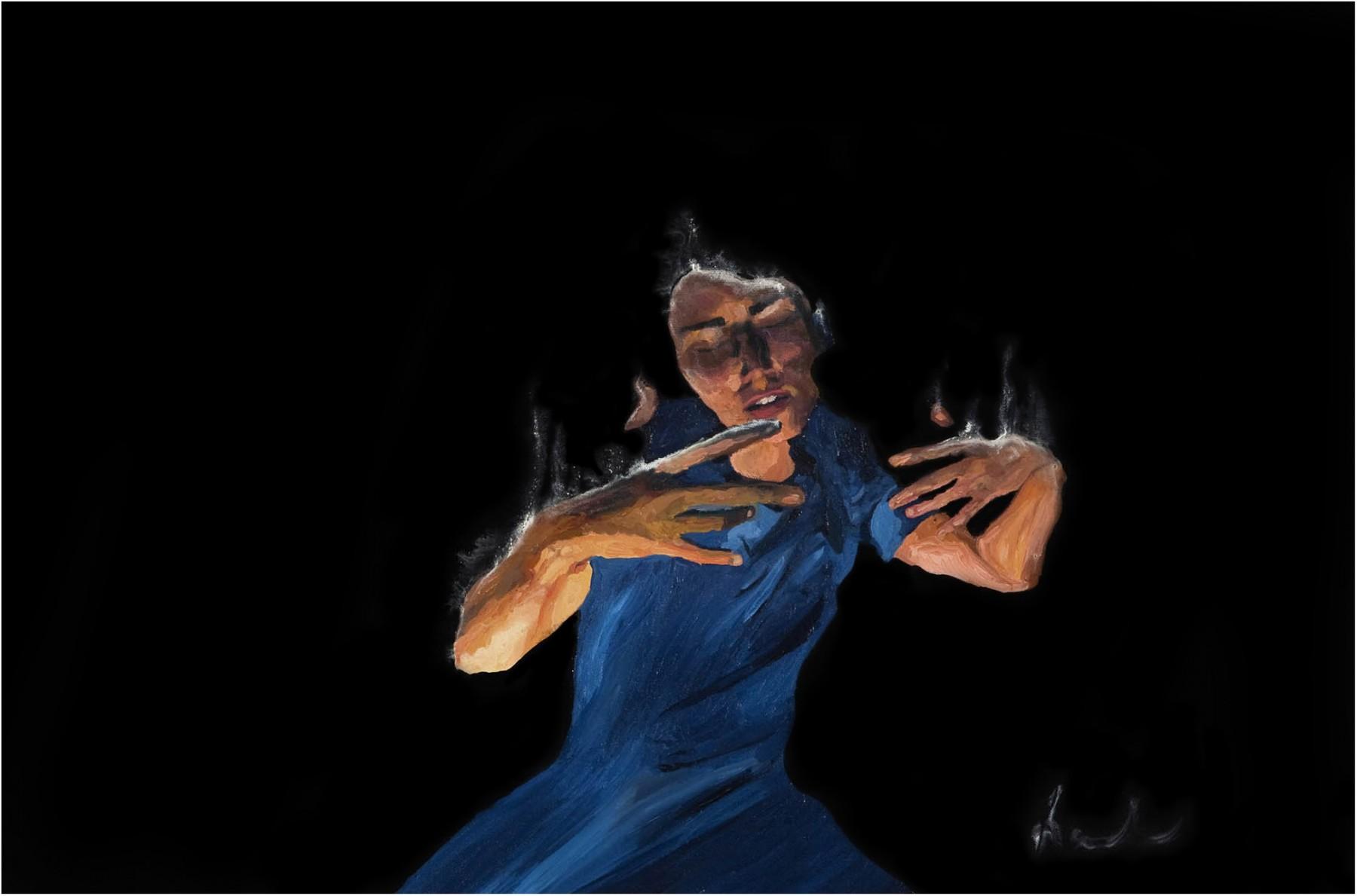 la valse bleue 60-100 cm